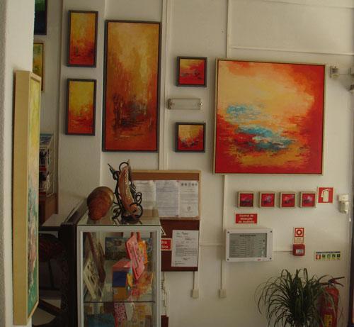 Exposição em Artes Bia
